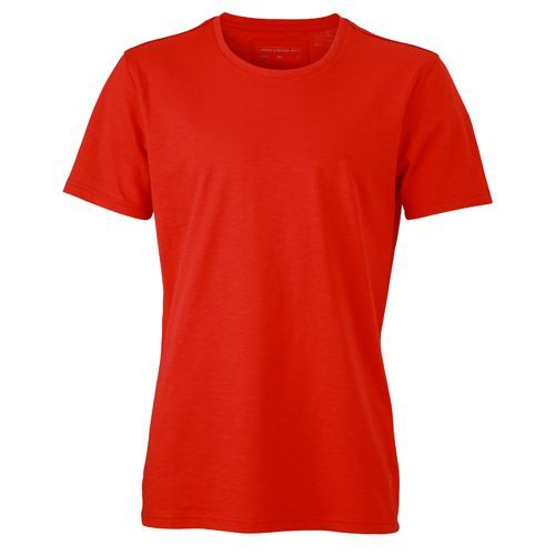 Men´s Urban T-Shirt [3XL] (Tomato / navy) (Art.-Nr. CA027472)