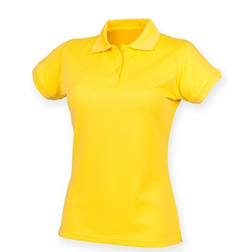 Ladies` Coolplus Wicking Polo Shirt [XXL] (Yellow) (Art.-Nr. CA027476)