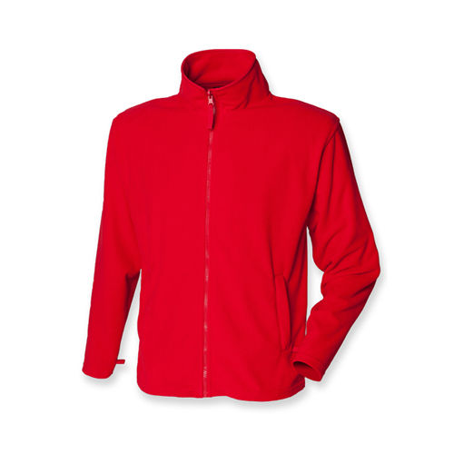 Men`s Microfleece Jacket [XXL] (Classic Red) (Art.-Nr. CA027670)