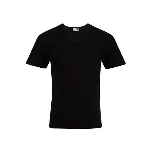 Men´s Slim Fit V-Neck-T [5XL] (black) (Art.-Nr. CA027918)