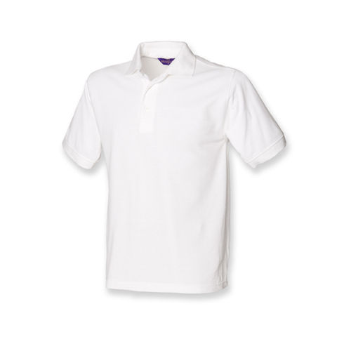 Men`s 65/35 Classic Piqué Polo Shirt [4XL] (White) (Art.-Nr. CA028535)