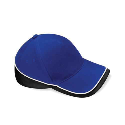 Teamwear Competition Cap [One Size] (bright Royal / black / white) (Art.-Nr. CA028892)
