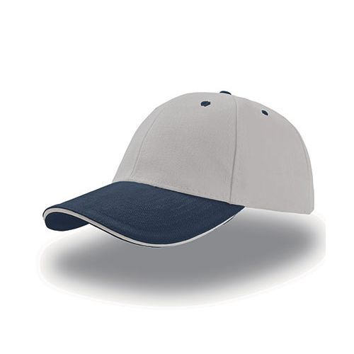 Liberty Sandwich Cap [One Size] (grey / navy / grey) (Art.-Nr. CA029350)