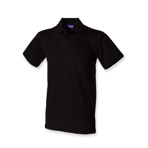 Men`s Stretch Piqué Polo Shirt [S] (Black) (Art.-Nr. CA030631)
