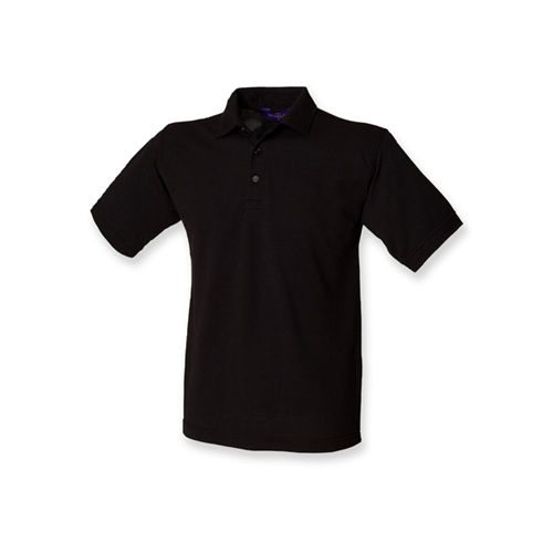 Men`s 65/35 Classic Piqué Polo Shirt [XL] (Black) (Art.-Nr. CA030986)