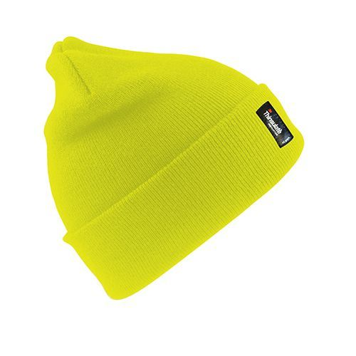 Woolly Ski Hat 3M™ Thinsulate™ [One Size] (fluorescent yellow) (Art.-Nr. CA031043)