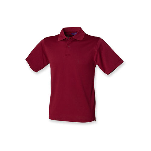 Men`s Coolplus Wicking Polo Shirt [3XL] (Burgundy) (Art.-Nr. CA031130)