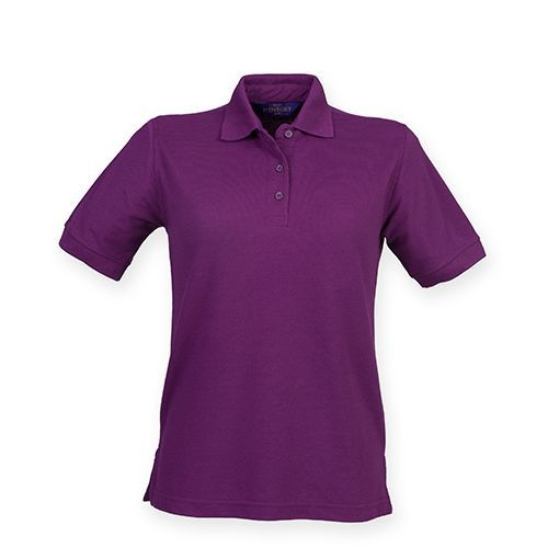 Ladies` 65/35 Classic Piqué Polo Shirt [S] (Magenta) (Art.-Nr. CA032378)