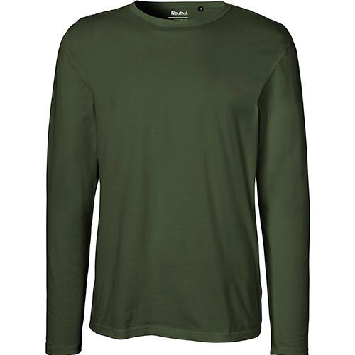 Mens Long Sleeve T-Shirt [L] (Military) (Art.-Nr. CA032907)