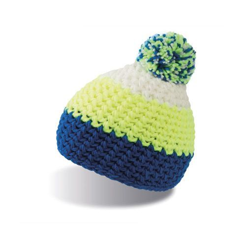 Everest Beanie [One Size] (Royal / Yellow Fluo / white) (Art.-Nr. CA034323)