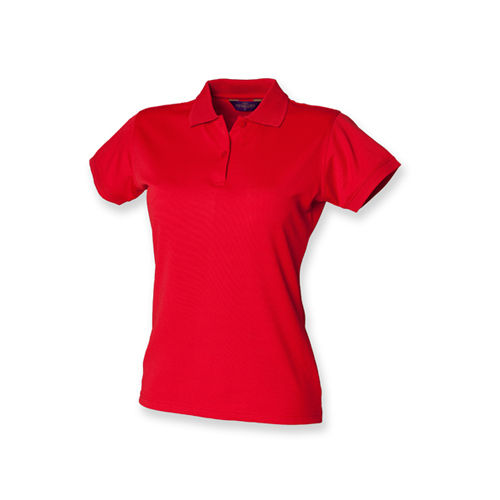 Ladies` Coolplus Wicking Polo Shirt [M] (Classic Red) (Art.-Nr. CA034403)