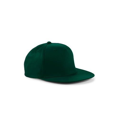 5-Panel Snapback Rapper Cap [One Size] (bottle green) (Art.-Nr. CA035276)