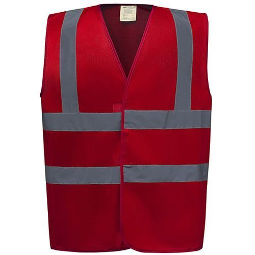 High Visibility 2 Bands & Braces Waistcoat [3XL] (Art.-Nr. CA035784)