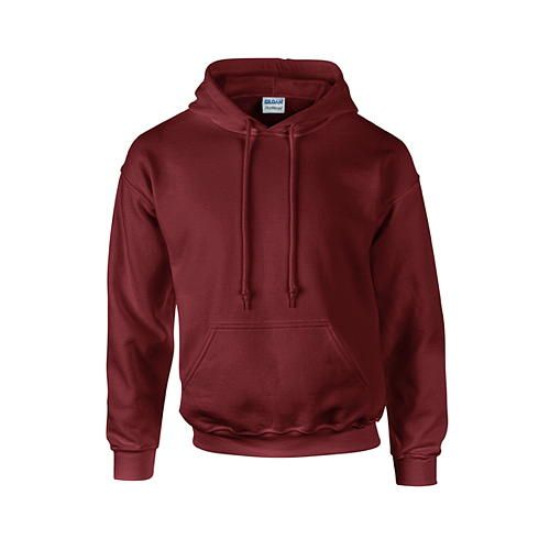 DryBlend® Hooded Sweatshirt [S] (Maroon) (Art.-Nr. CA035918)