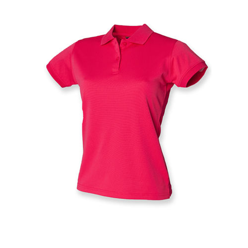 Ladies` Coolplus Wicking Polo Shirt [S] (Bright Pink) (Art.-Nr. CA035938)