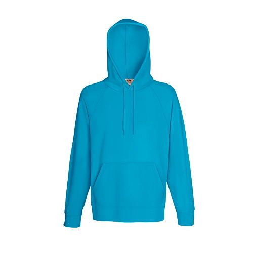 Lightweight Hooded Sweat [XL] (Azure Blue) (Art.-Nr. CA036833)