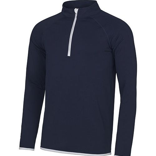 Men`s Cool 1/2 Zip Sweat [M] (French Navy) (Art.-Nr. CA037060)