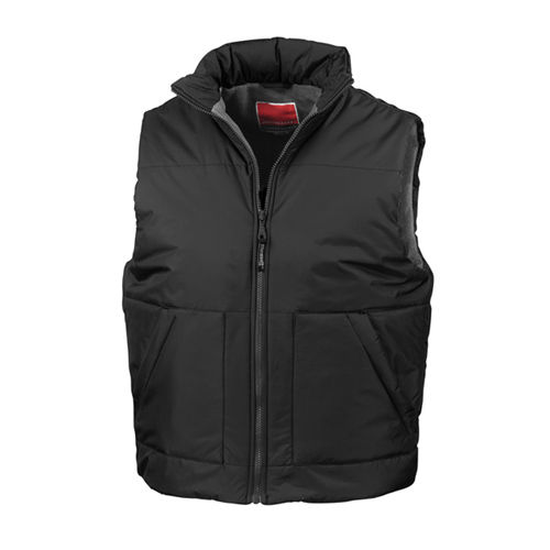 Fleeced Lined Bodywarmer [L] (Black) (Art.-Nr. CA037135)