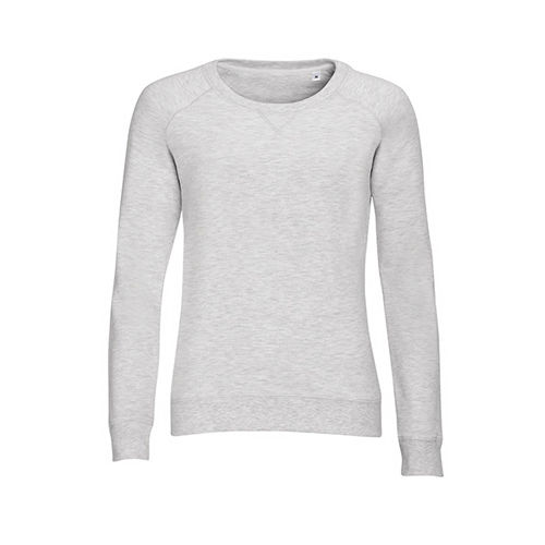 Women`s French Terry Sweatshirt Studio [M] (Ash (Heather)) (Art.-Nr. CA037534)