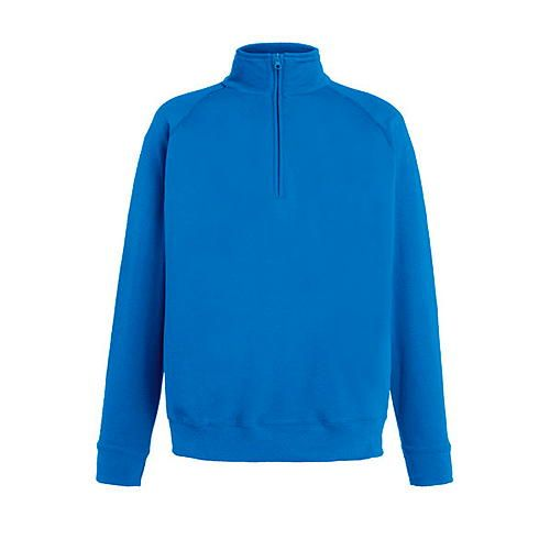 Lightweight Zip Neck Sweat [L] (Royal Blue) (Art.-Nr. CA038444)