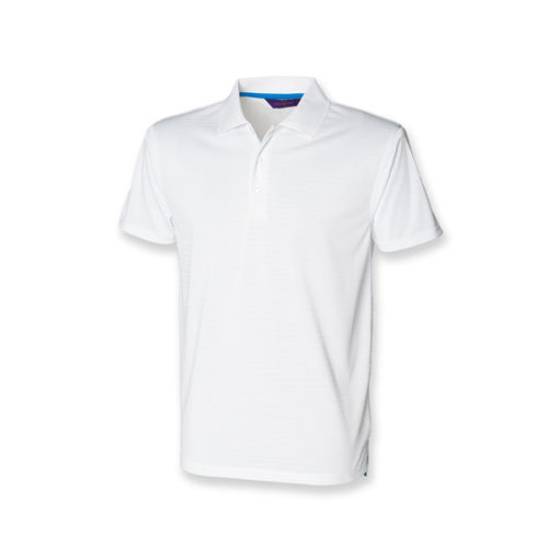 Cooltouch Textured Stripe Polo [XL] (White) (Art.-Nr. CA039264)