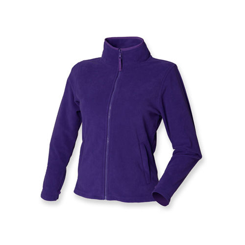 Ladies` Microfleece Jacket [S] (Purple) (Art.-Nr. CA041351)
