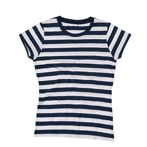 Women`s Stripy T [M] (Navy) (Art.-Nr. CA041727)