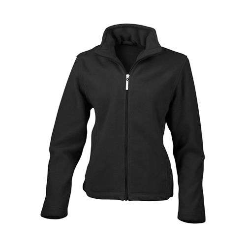 Women`s Micro Fleece Jacket [XS (8/34)] (black) (Art.-Nr. CA046271)