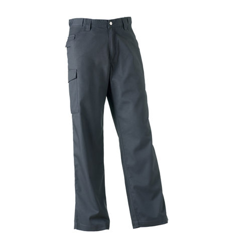 Workwear Polycotton Twill Trousers [38/32] (Convoy grey (Solid)) (Art.-Nr. CA046839)