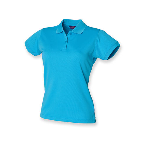 Ladies` Coolplus Wicking Polo Shirt [M] (Turquoise) (Art.-Nr. CA046840)