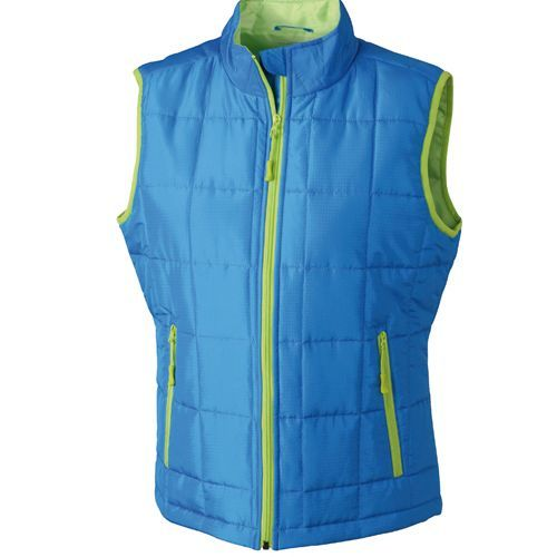 Ladies` Padded Light Weight Vest [S] (Aqua) (Art.-Nr. CA047396)