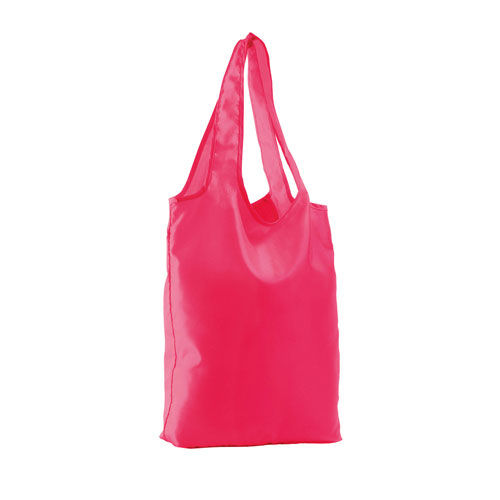 Foldable Shopping Bag Pix [40 x 31 x 9,5 cm] (neon pink) (Art.-Nr. CA047808)