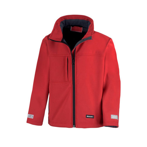 Junior Classic Soft Shell Jacket [S (5-6)] (Art.-Nr. CA048858)