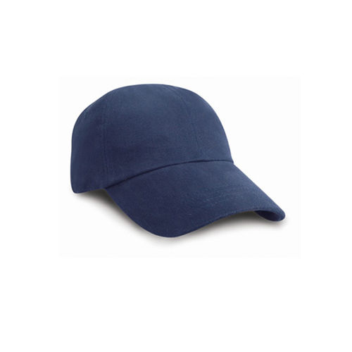 Low Profile Heavy Brushed Cotton Cap [One Size] (Navy) (Art.-Nr. CA049955)