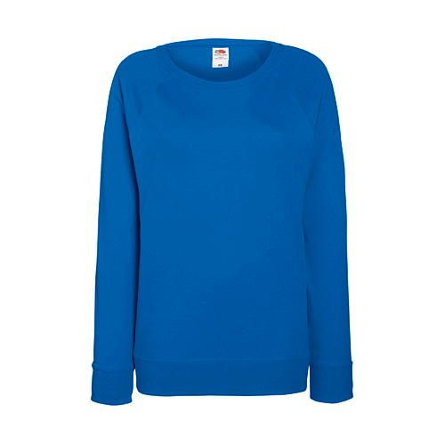 Ladies Lightweight Raglan Sweat [S] (royal blue) (Art.-Nr. CA049972)