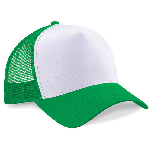 Snapback Trucker [One Size] (Pure green / white) (Art.-Nr. CA050430)