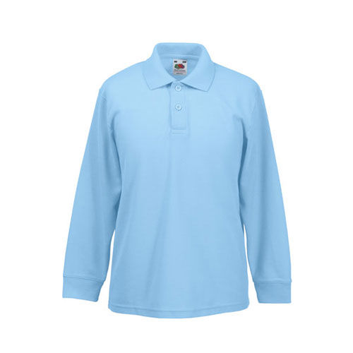 Long Sleeve 65/35 Polo Kids [152] (Sky blue) (Art.-Nr. CA051536)