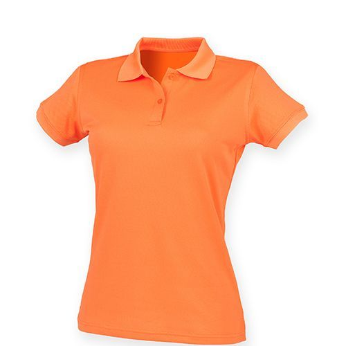 Ladies` Coolplus Wicking Polo Shirt [XS] (bright orange) (Art.-Nr. CA056442)