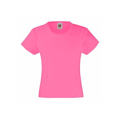 Girls Valueweight T [152] (Fuchsia) (Art.-Nr. CA057033)