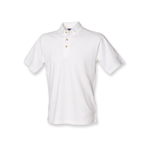 Classic Cotton Piqué Polo Shirt [XL] (white) (Art.-Nr. CA057865)