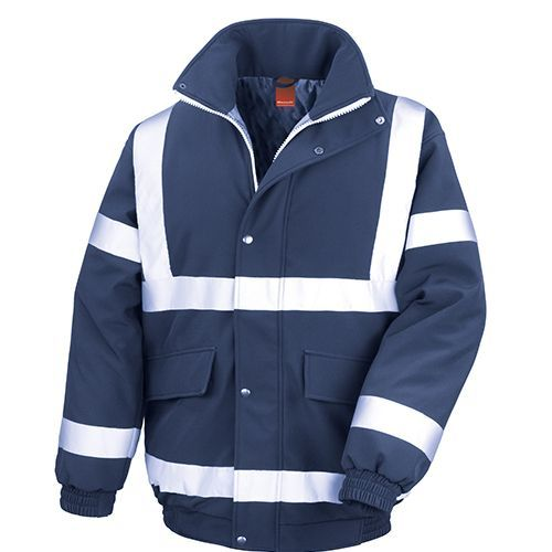 Result Safety Padded Softshell Blouson [M] (navy) (Art.-Nr. CA058705)