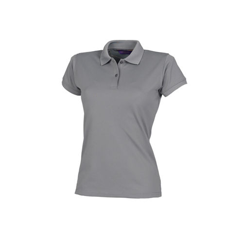 Ladies` Coolplus Wicking Polo Shirt [S] (charcoal) (Art.-Nr. CA059138)