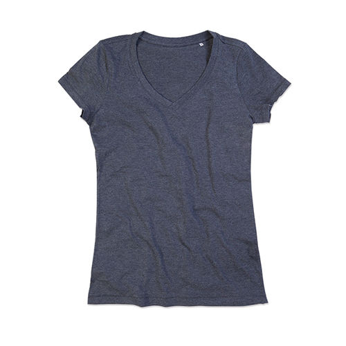 Lisa V-Neck for women [XL] (charcoal heather) (Art.-Nr. CA059771)