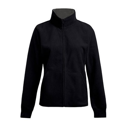 Women`s Double Fleece Jacket [S] (Black) (Art.-Nr. CA059859)