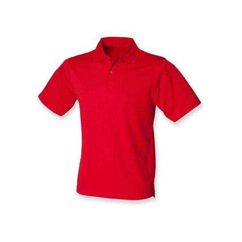 Men`s Coolplus Wicking Polo Shirt [XL] (classic red) (Art.-Nr. CA060265)