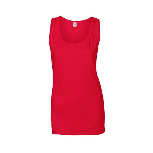 Softstyle® Ladies` Tank Top [XXL] (Cherry red) (Art.-Nr. CA060309)