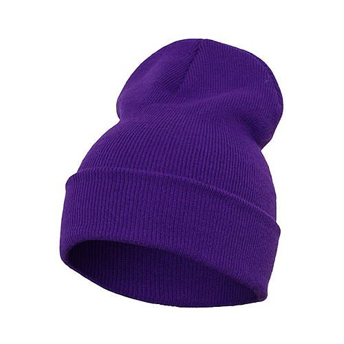 Heavyweight Long Beanie [One Size] (Purple) (Art.-Nr. CA060683)