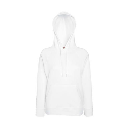 Ladies Lightweight Hooded Sweat [M] (white) (Art.-Nr. CA060716)