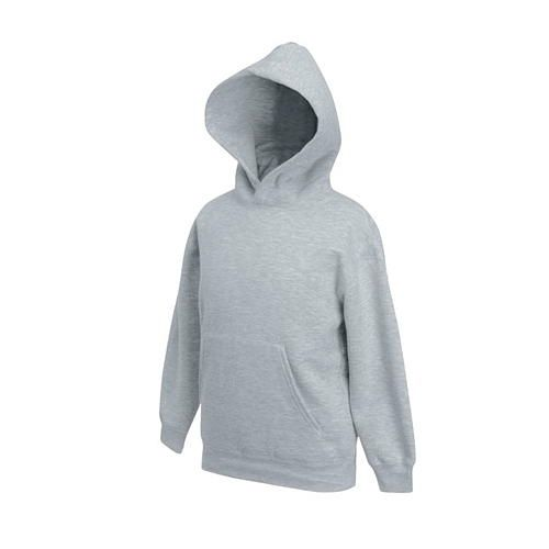 Kids Classic Hooded Sweat [116] (heather grey) (Art.-Nr. CA060728)
