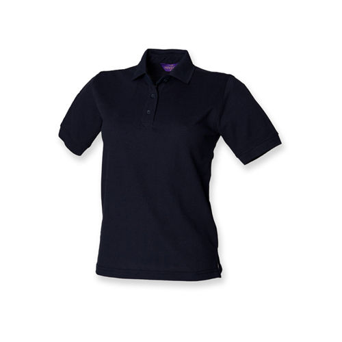 Ladies` 65/35 Classic Piqué Polo Shirt [XS] (navy) (Art.-Nr. CA060808)